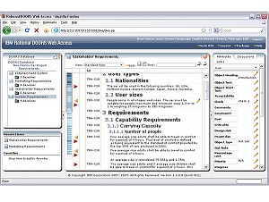 IBM RATIONAL Doors Web Access
