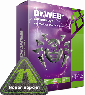Dr.Web 11 для Windows + Криптограф